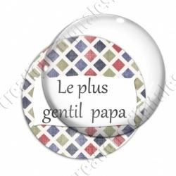 Image digitale - Le plus gentil papa - Carreaux