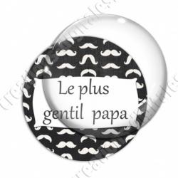 Image digitale - Le plus gentil papa - Moustaches