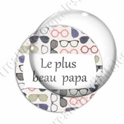 Image digitale - Le plus beau papa - Lunettes