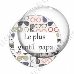 Image digitale - Le plus gentil papa - Lunettes