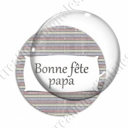 Image digitale - Bonne fête papa - Lignes