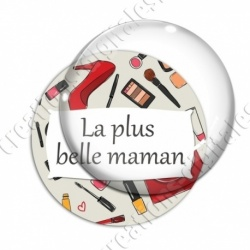 Image digitale - La plus belle maman - Maquillage