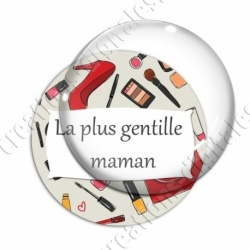 Image digitale - La plus gentille maman - Maquillage