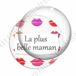Image digitale - La plus belle maman - Bouche