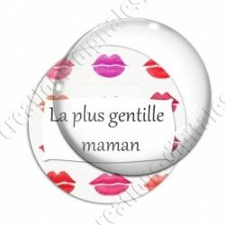 Image digitale - La plus gentille maman - Bouche