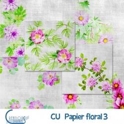 CU Papiers Floral 03