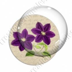 Image digitale - Fleur violette
