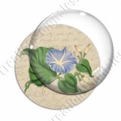 Image digitale - Fleur bleue