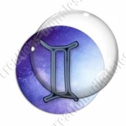 Image digitale - Zodiaque - Gémeaux