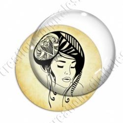 Image digitale - Tribal - Femme 02
