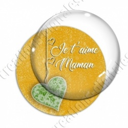 Image digitale - Je t'aime maman
