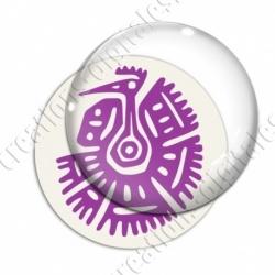 Image digitale - Tribal - Vautour violet