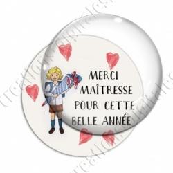 Image digitale - Vintage - Merci maîtresse 02
