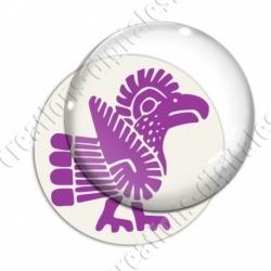 Image digitale - Tribal - Coq violet