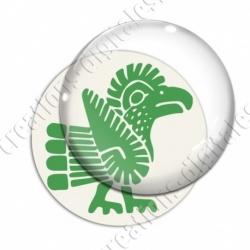 Image digitale - Tribal - Coq vert