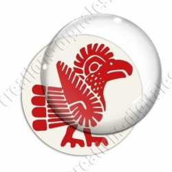 Image digitale - Tribal - Coq rouge