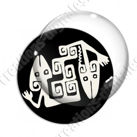 Image digitale - Tribal - Lézards 02