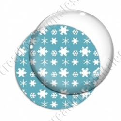 Image digitale - Motif flocons