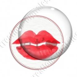 Image digitale - Je t'aime bouche rouge 03