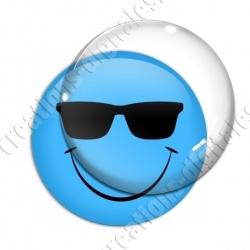 Image digitale - emoji lunettes