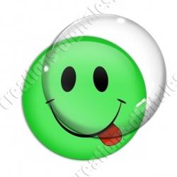 Image digitale - emoji classique langue