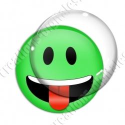 Image digitale - emoji langue