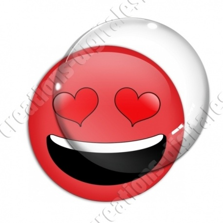 Image digitale - emoji amoureux