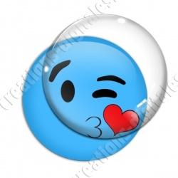 Image digitale - emoji bisou