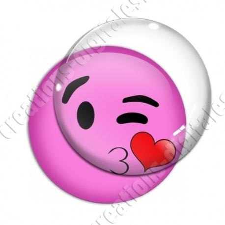 Image Digitale Emoji Bisou Créations Digitales
