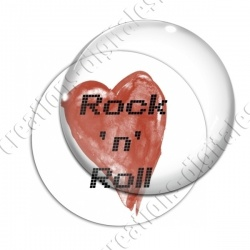 Image digitale - Rock'n'Roll coeur