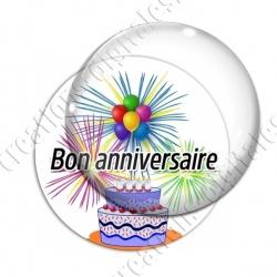 Image digitale - Bon anniversaire artifice 01