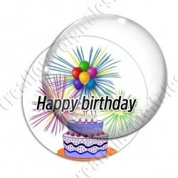 Image digitale - Bon anniversaire artifice 02