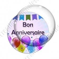 Image digitale - Bon anniversaire - Ballons 01