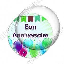 Image digitale - Bon anniversaire - Ballons 02