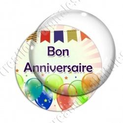 Image digitale - Bon anniversaire - Ballons 03