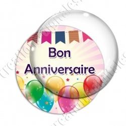 Image digitale - Bon anniversaire - Ballons 04