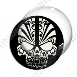 Image digitale - Crâne tribal 02