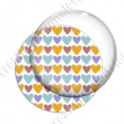 Image digitale - Coeurs 4 couleurs 03