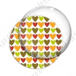 Image digitale - Coeurs 4 couleurs 07
