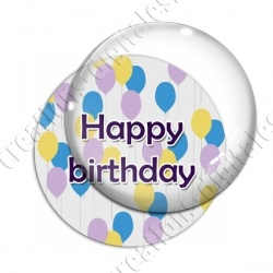 Image digitale - Happy Birthday - Ballons