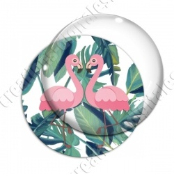 Image digitale - Flamant rose couple 01