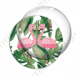 Image digitale - Flamant rose couple 02