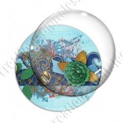 Image digitale - Vague décorée 03