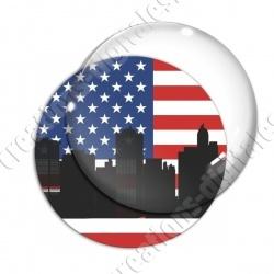 Image digitale - USA - Silhouette ville