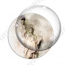 Image digitale - USA vintage - Statue de la liberté 01