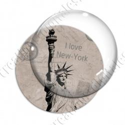 Image digitale - USA vintage - Statue de la liberté 02