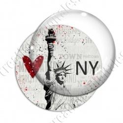 Image digitale - USA vintage - Statue de la liberté 03