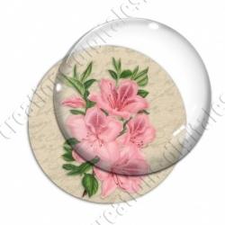 Image digitale - Fleurs roses