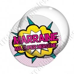 Image digitale - Comics - Marraine ma superhéroine