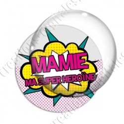 Image digitale - Comics - Mamie ma superhéroine